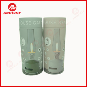Light Bulb Paper Packaging Tube Customized Round Box