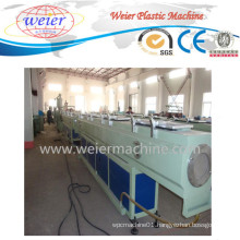 HDPE LDPE PE Plastic Pipe Extruding Machinery Production Line