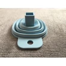 Creative silicone folding cone funnel liquid separator