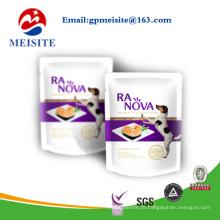Design personalizado Embalagem de plástico Saco de comida para animais / Saco de alimentos para cães / Saco de alimentos para gatos