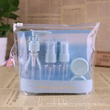 Bidón plástico y botella para mascotas con bolsa (PT10)