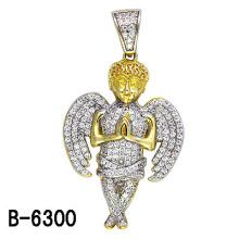 Neue Styles 925 Sterling Silber Mikro Einstellung Angel Anhänger