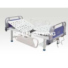 (A-77) - Lit fonctionnel à double fonction pour hôpitaux avec tête de lit ABS