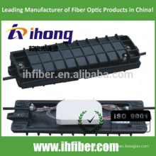 2 In - 2 Out Horizontal / Inline Fiber Optic splice closure