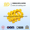 Customized Sand Casting for High Manganese Steel Connector in China