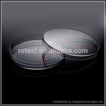 Platos Petri de 90mm de altura 15mm.
