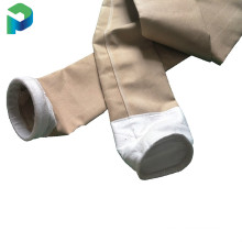 Pneumatic conveying needle solid High temp Air slide fabric filter bags