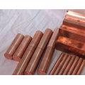 Barre de bus en cuivre / barre plate en cuivre / barre de cuivre rectangulaire