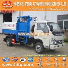 FOTON 4X2 kleiner LKW 3m3 guter Qualität Seitenlader Müllwagen