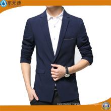 Factory OEM Fashion Casual Jacket Men Cotton Blazer