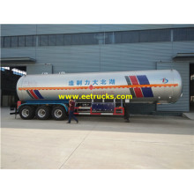 58,5 cbm 30MT LPG Transport Tank Trailers
