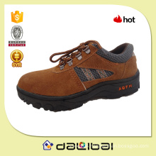 2015 best selling suede leather good low price lightweight safety shoes
