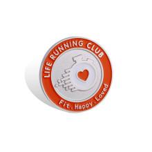 Insigne organisationnel promotionnel, badge émaillé doux (HY-MKT-0010)