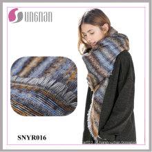 2015 lenço quadrado de imitação do quadrado da caxemira do inclinação do jacquard das senhoras do inverno