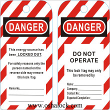 Safety Lockout Tagout Tags
