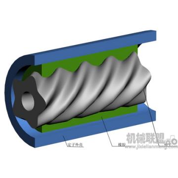 Downhole Motor Stator Kunststoffeinspritzung