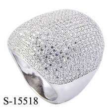 Latest Design Fashion Jewelry Micro Ring with Zirconia