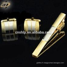 Pince à cravate en métal sur mesure avec logo personnalisé