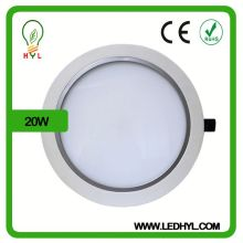 20w AC100-265V 50/60Hz 2835 smd high bright recessed indirect lighting fixture