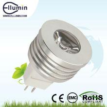 1Вт 12V водонепроницаемый светодиодный прожектор с CE и RoHS сертификат