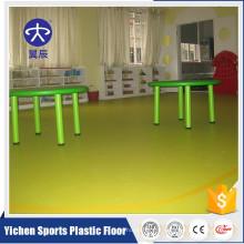 Fournisseur d'usine qualité supérieure maternelle vinyle rouleaux PVC plancher