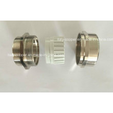 CE Certified Quality Brass Plated Coupling (AV90052)