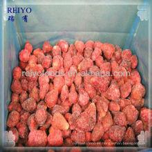 Fresas congeladas a granel