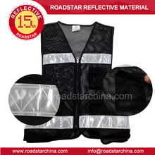 Customized High Visibility reflective running vest for riding