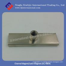 Imprimante à canaux / aimants à verrou (XLJ-4804)