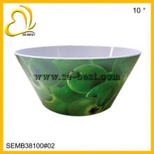 tazón de fuente redondo de la melamina; cuenco de sopa; cuenco de cereal