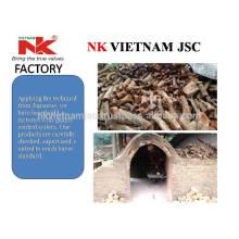 Eukalyptus Holzkohle für BBQ / Rauchfreie Holzkohle / geruchlose weiße Holzkohle