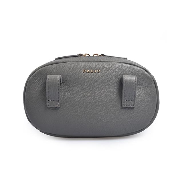 leather fanny waterproof waist pack bag for women
