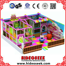 Lovely Pink Children Indoor Soft Playground para Comprar