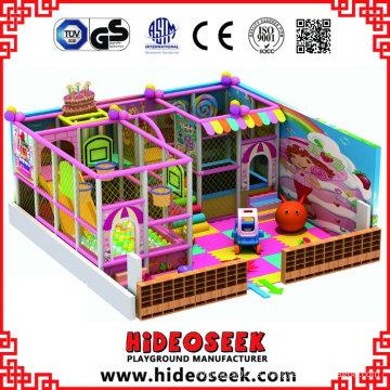 Lovely Pink Children Indoor Soft Playground para Comprar