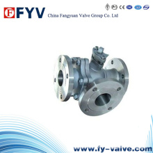API6d One Piece Three Way Ball Valve