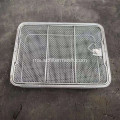 Folding Wire Basket dengan Handle