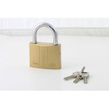 3 Stahl Atom Keys doppelte Linie Schlösser Form laminierte Vorhängeschloss