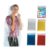 Cheap disposable PE rain poncho