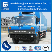 DONGFENG freezer lorry 4X2 samll car refrigerator lorry frozen lorry chilled lorry truck