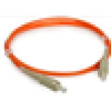 SC cable de conexión de fibra óptica multimodo, sc upc / apc SX DX puente de fibra con el mejor precio