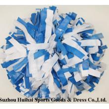 Look humide POM POM: Blue Mix White