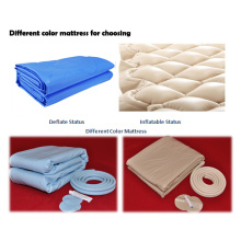 Foldable and comfortable inflatable medical air bubble mattress