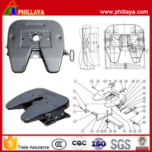 Hitch Type Two Semi-Trailer Components Fifth Wheel