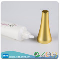 High quality toning cream cosmetic type hot stamping tube
