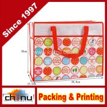 Promoción compras empaquetado no tejido bolsa (920053)