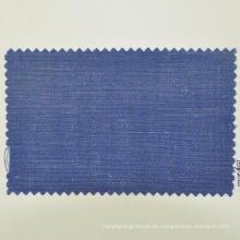 tela oscura de lana azul marino 260g / m para gabardina