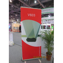 Scrolling Retractable Trade Show Banner Untuk Pameran