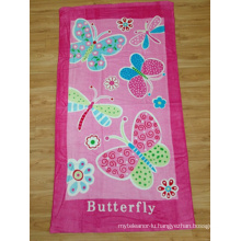 100% Velour Printed Beach Towel (BC-BT1017)