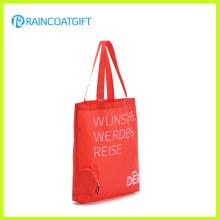 Bolsa de compras impressa logotipo do cliente da promoção