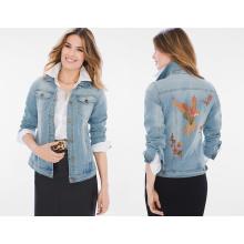 Ladies Denim Jacket Collectibles Parrot Denim Jacket